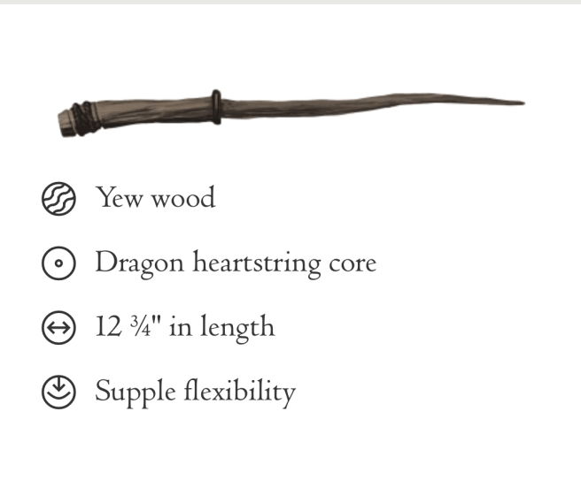 #harrypotter #pottermore #wand