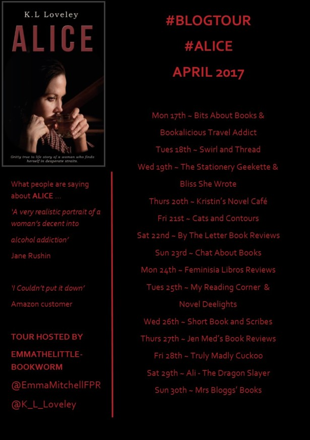 Alice - Blog Tour Banner