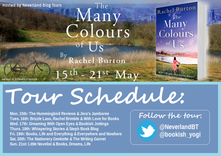 The Many Colours of Us Schedule Graphic