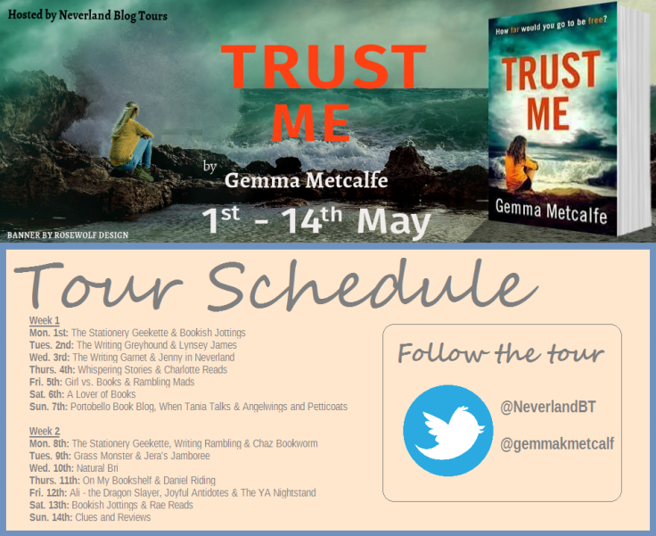 Trust Me Schedule Graphic