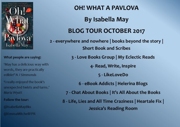 Oh! What a pavlova Tour Banner