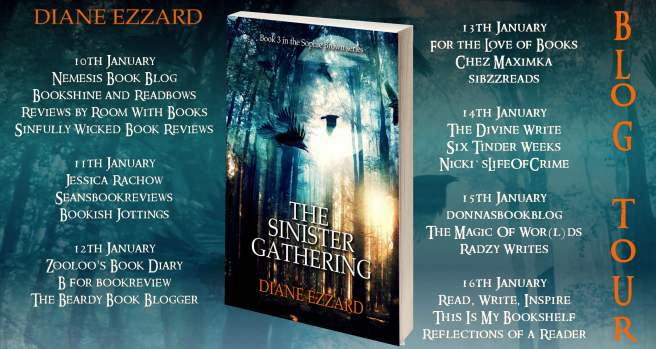 the sinister gathering full tour banner